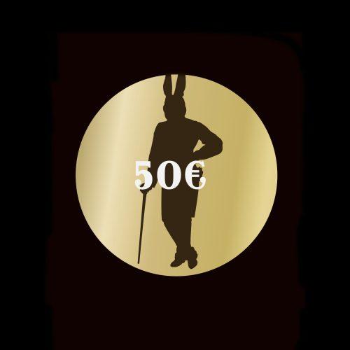 50 Euro Gutschein The Rabbithole Bar