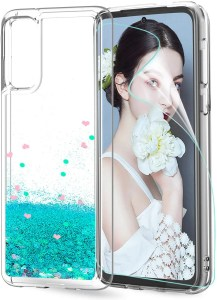LeYi Personalised TPU Silicone Girl Case for Galaxy S20