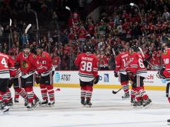 The Rink cut Recap: Every Night Should Be Duncan Keith Bobblehead Night Wild NHL Blackhawks