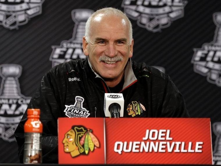 The Rink Q-e1541650655506 BREAKING: Blackhawks Relieve Quenneville, Colliton Takes Over Joel Quenneville Chicago Blackhawks Blackhawks Barry Smith