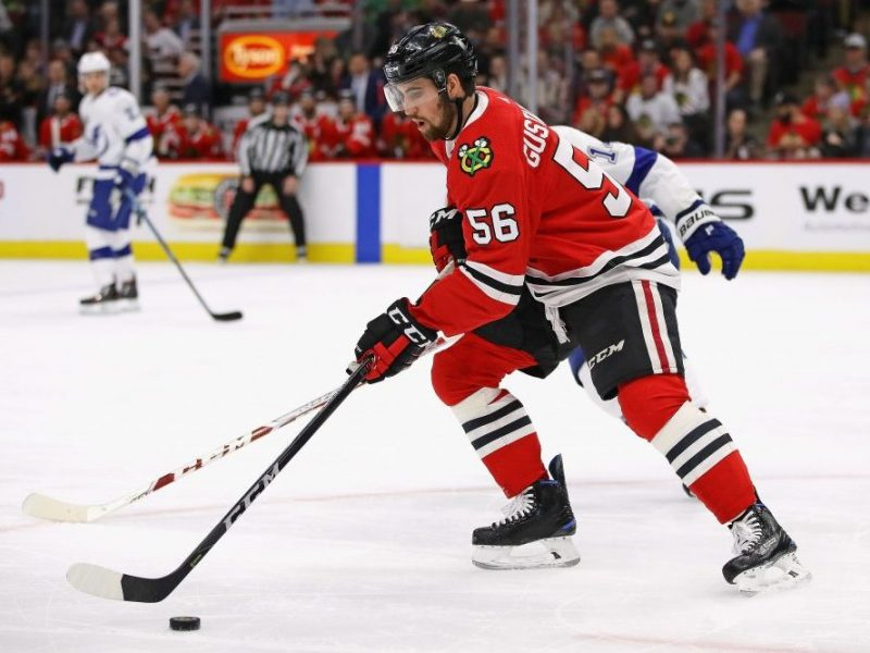 "The Rink ErikGustafsson-e1540138650342 Analysis: Is ""Gus"" that good? Or is the ""D"" that bad? Gustafsson Blackhawks"