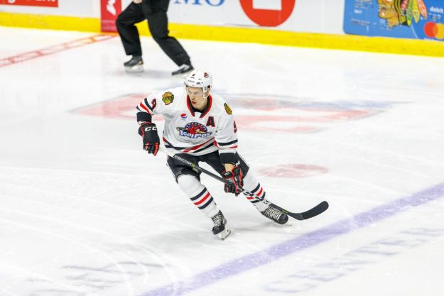 Rockford IceHogs Matthew Highmore
