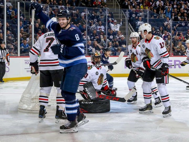 c1d411bf3 The Rink HawksVSJets_11-2018-e1543552053196 RECAP: Blackhawks Comeback  Falls Short in Winnipeg Winnipeg