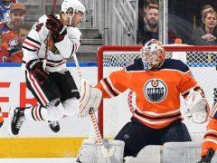 The Rink cut-e1541265869929 RECAP: Blackhawks shutout by Edmonton Oilers 4-0 Mikko Koskinen Jonathan Toews Connor McDavid Cam Ward Brandon Saad Alexandre Fortin