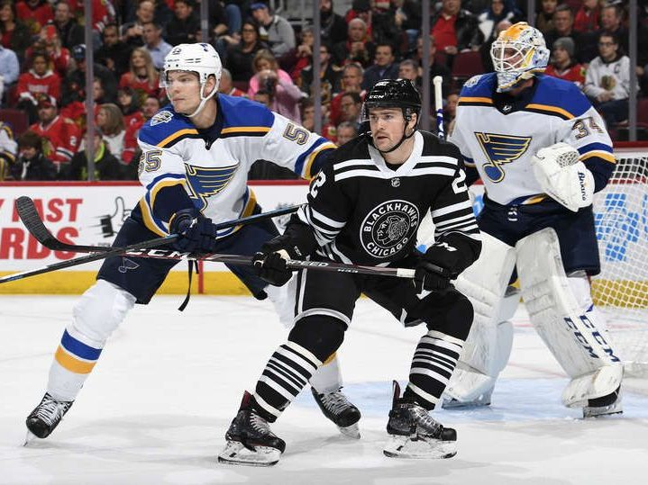 RECAP: Blues toy with the Blackhawks and easily win 4–0