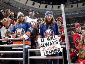 Lehner's fans are loyal