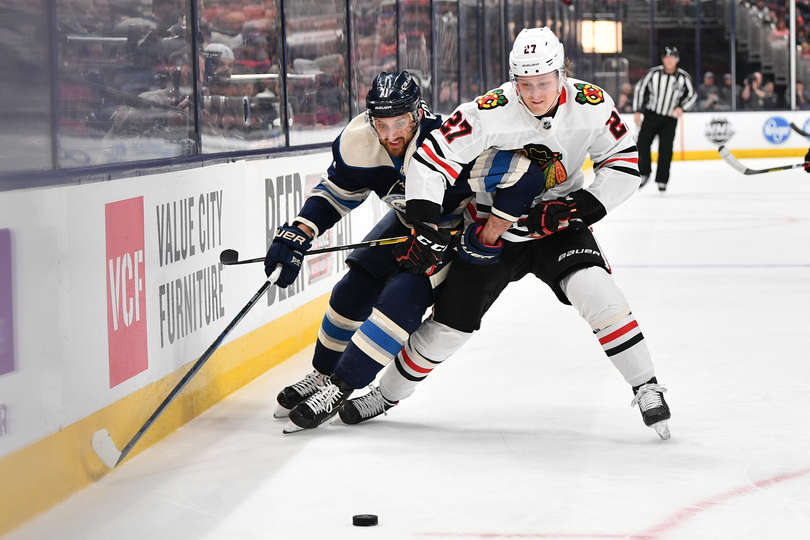 Along the boards: Blackhawks stage late comeback, down Blue Jackets 3-2