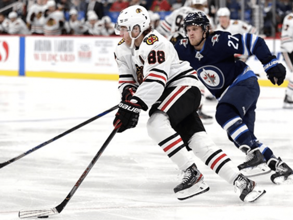 Along the boards: Blackhawks succumb to fatigue and the Winnipeg Jets