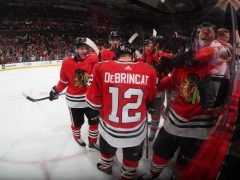 Blackhawks Win