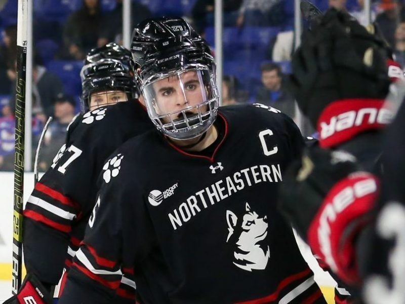 Ryan Shea cementing legacy at Northeastern as Blackhawks future awaits