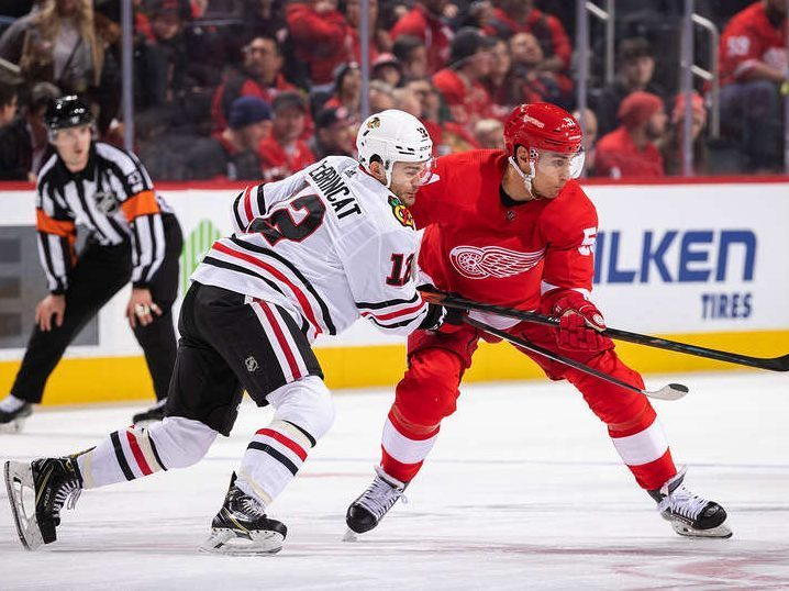 Blackhawks Red Wings