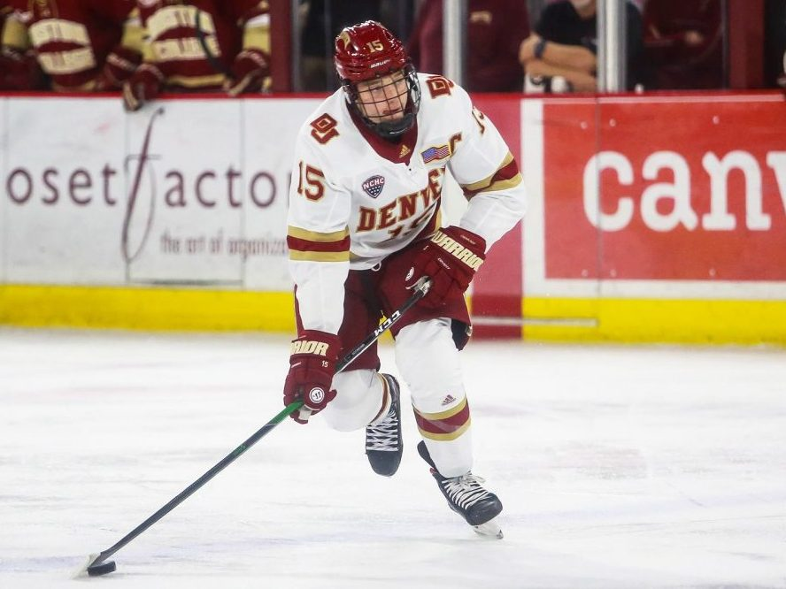 What are the Chicago Blackhawks getting in Ian Mitchell?