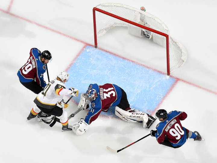 Avalanche drop to second seed in overtime loss to Vegas Golden Knights