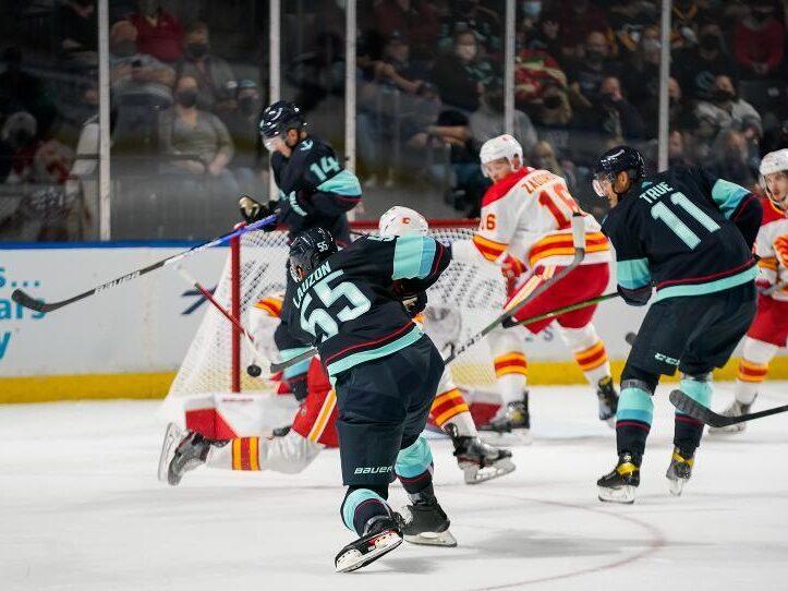 RECAP: Kraken take their lumps from Calgary Flames, lose 4–1
