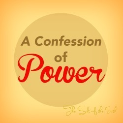 a confession of power