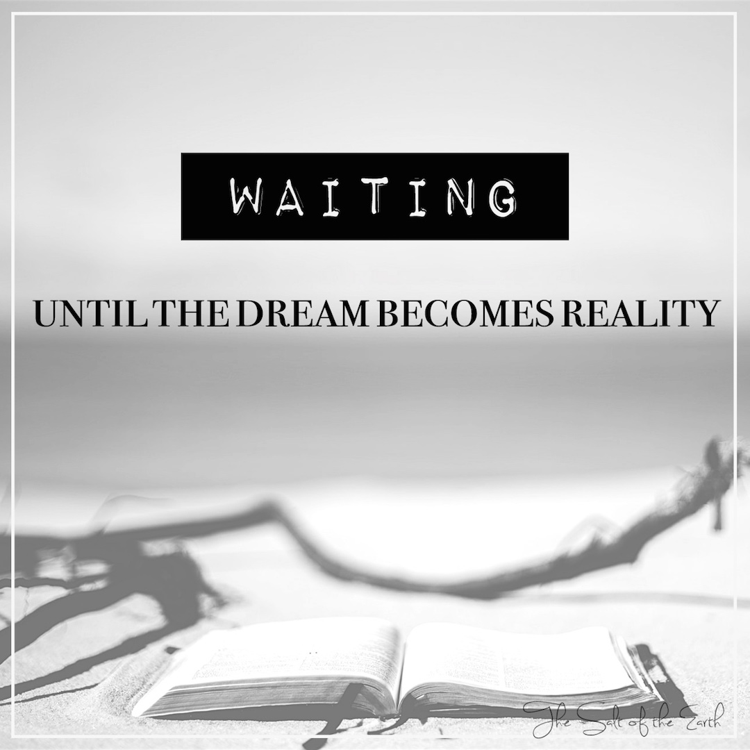 Waiting.... until the dream becomes reality