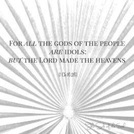 The Lord God is the Creator of the Heavens