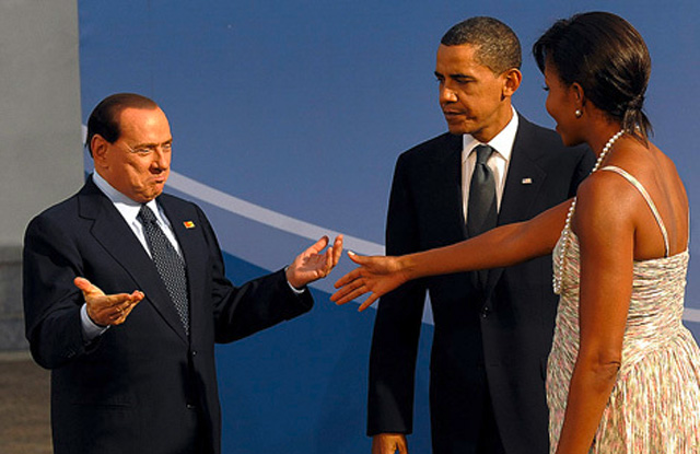 Silvio Berlusconi Calls Barack Obama 'Tanned'