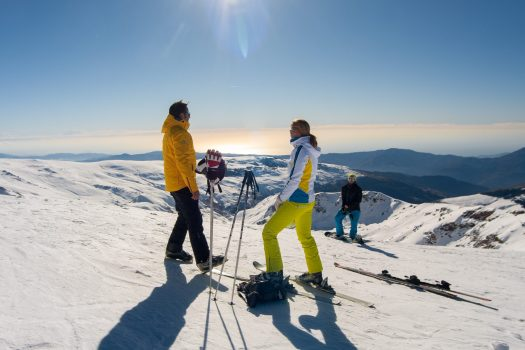 Mediterranean Sea views from Sierra Nevada. Photo: CETURSA. Sierra Nevada: Cetursa approves an investment of 10 million for the next season and addresses the installation of a new ski lift.
