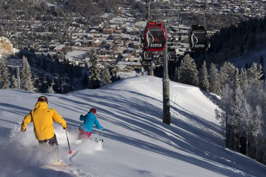 www.Mattpowerphotography.com January 21 2015. Aspen Mountain to Open with Skiing and Riding Memorial Day Weekend.