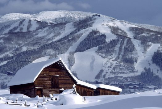 Steamboat Resort - Barn - Photo: Loryn Kaster - Alterra Resorts. Was the past one a great ski season? Enjoy it for now!
