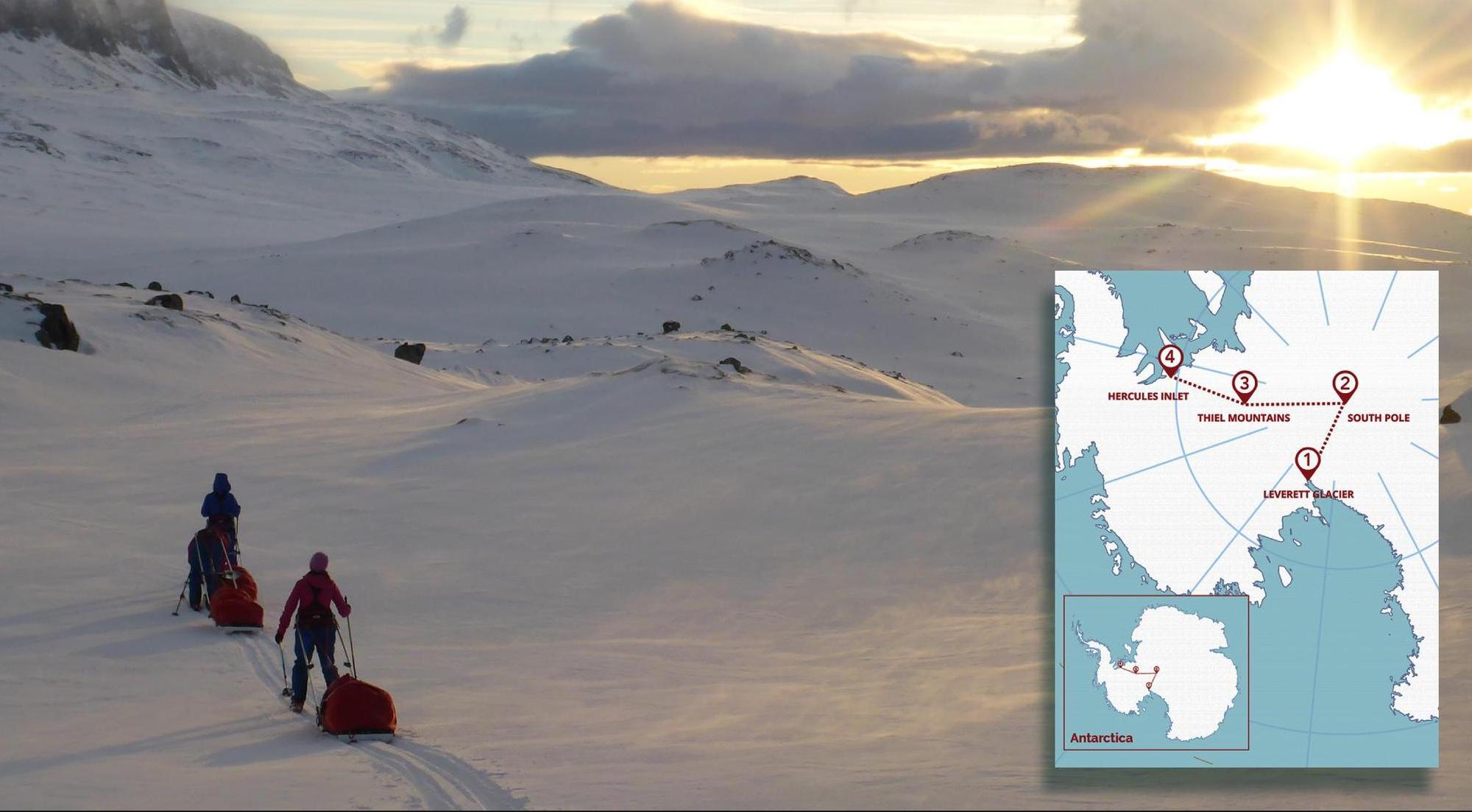 Ice Maiden Expedition - largest female only group to cross Antarctica from the UK Army