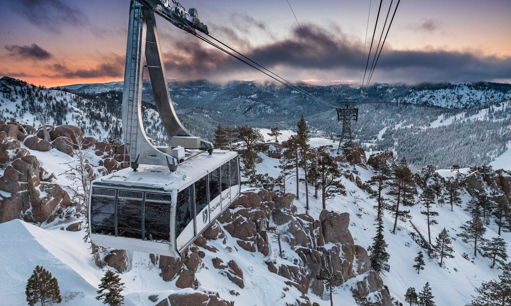 Squaw Valley Funicular - Alterra Mountain Resorts. Skier Visits Top 59 Million in US Ski Areas for the 2018/19 Ski Season.