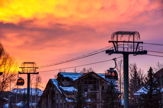 Dawn at Telluride- Photo: Telluride Ski Resort.
