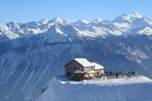 Crans Montana - Switzerland, site for the 2nd European Mountain Travel Summit.