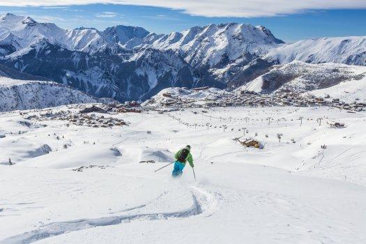 Alpe D'Huez great ski area.