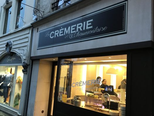 The Crèmerie in Chaumont is always busy. French people like shopping their basics every day to have fresh food. Photo by The-Ski-Guru