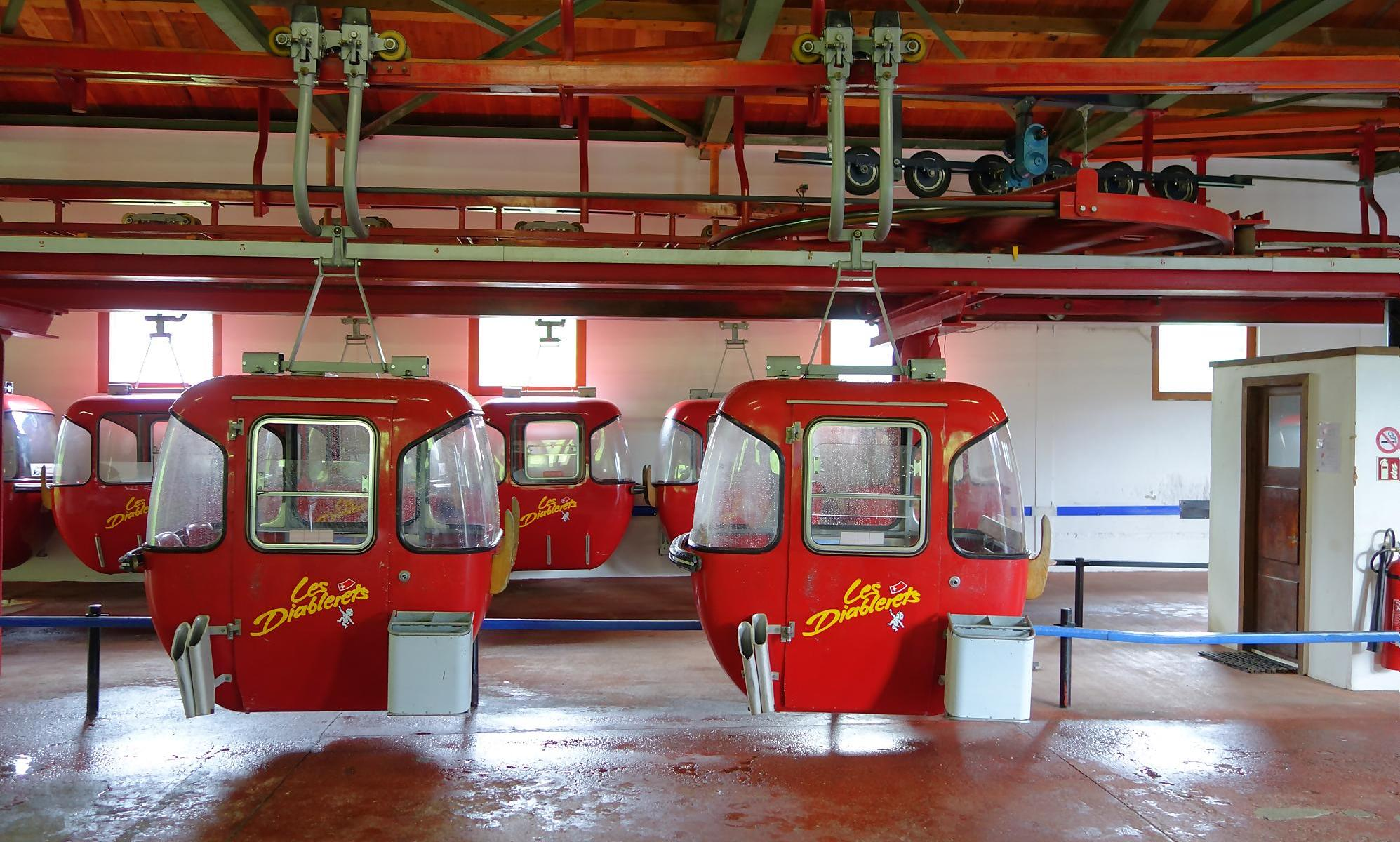 The Isenau lift is due to be replaced. Photo: Les Diablerets.