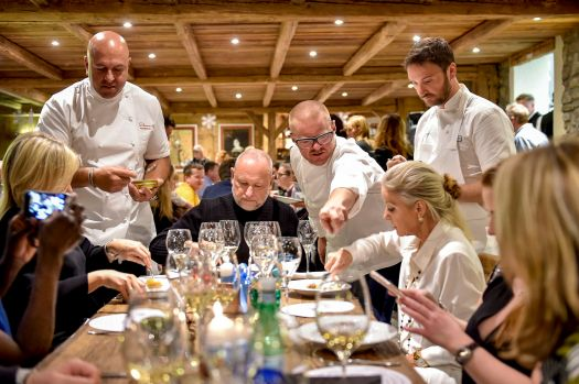 Heston Blumental curates the Mountain Gourmet Experience 2018 in Courmayeur