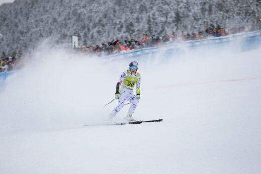 Alpine skiing races - photo by Grandvalira.