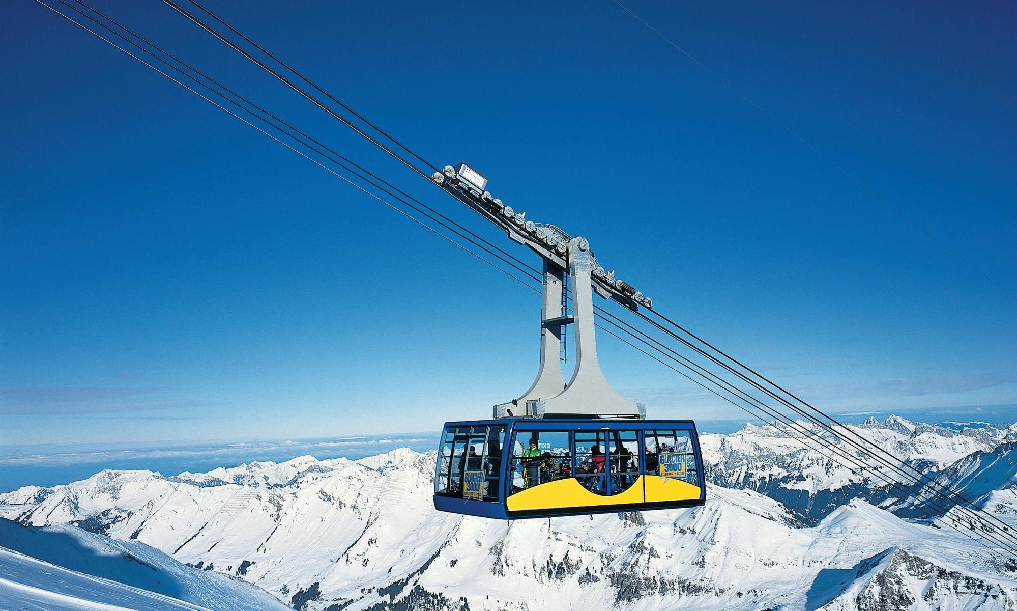 Villars-Gryon-Les Diablerets is one of the resorts in the Magic Pass.