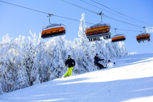 Okemo resort is one of the resorts sold by the Mueller's to Vail Resorts.