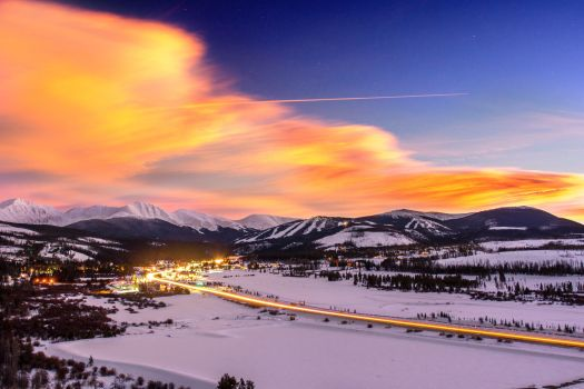 Winter Park Sunset- Photo by Alterra Mtn Co. Was the past one a great ski season? Enjoy it for now!
