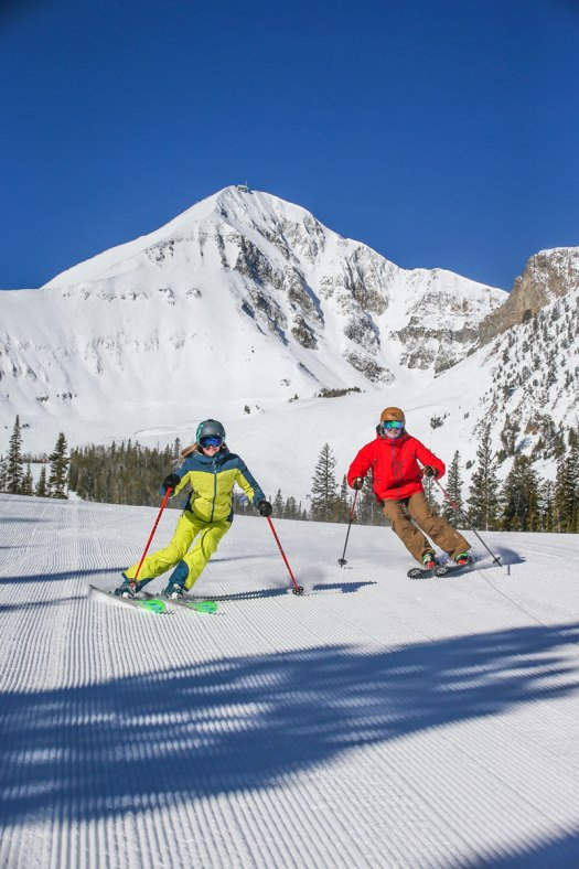 Big Sky is the most renown resort in Montana, United States. Big Sky is part of the Mountain Collective Pass for the 2018-19 ski season