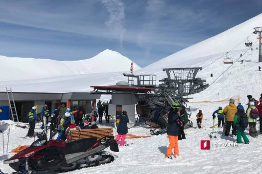 Gudauri ski lift accident was a terrifying one, but luckily there were not big casualties. Doppelmayr to train lift personnel at Gudauri ski resort