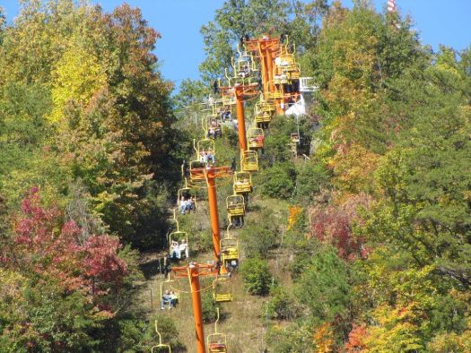 Gatlinburg SkyLift in Gatlinburg- Tennessee. Photo Gatlinburg SkyLift. Boyne Resorts acquires six mountain resorts.