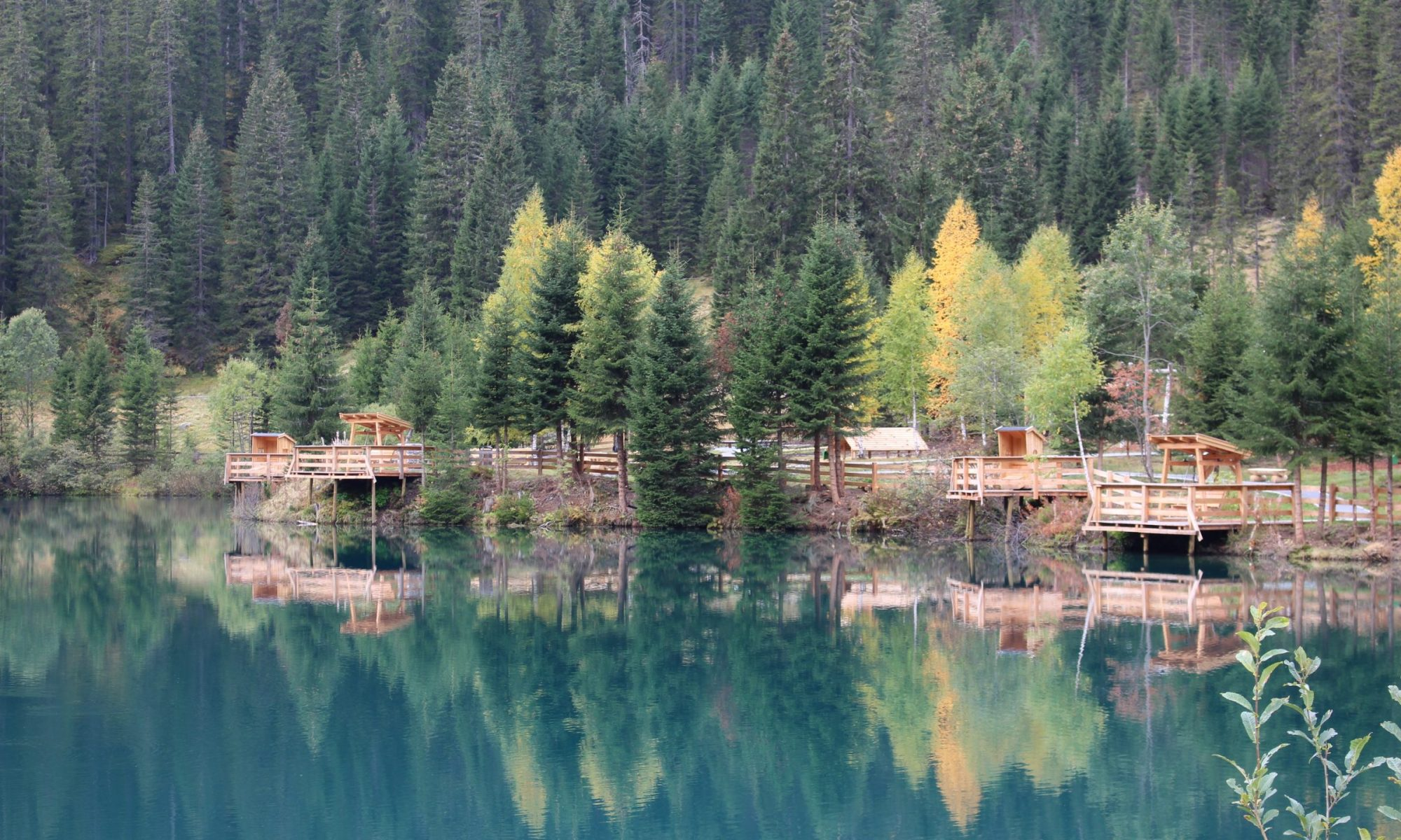 As if painted in water - the Verwallsee near St. Anton am Arlberg is known for its shimmering turquoise green Picture credits: TVB St. Anton am Arlberg