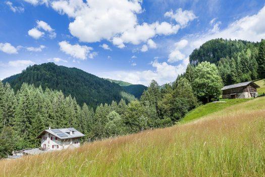 San Martino di Castrozza - Val Noana - Rifugio Fonteghi. Fototeca Trentino Sviluppo S.p.A. - FOTO DI Tommaso Forin.