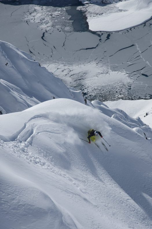 Chris Davenport, Portillo, Chile photo:Adam Clark