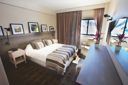 Rooms have been renovated at Hotel Portillo. Photo: Ski Portillo.