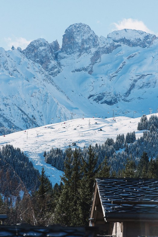 Spring time skiing - photo by David Andre - Les Trois Vallées.