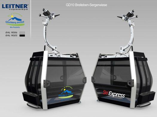 Dolomiti Superski - Jochtal new cabins- Ski Express. Leitner Ropeways.