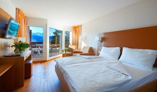 Room at the Helvetia Intergolf.