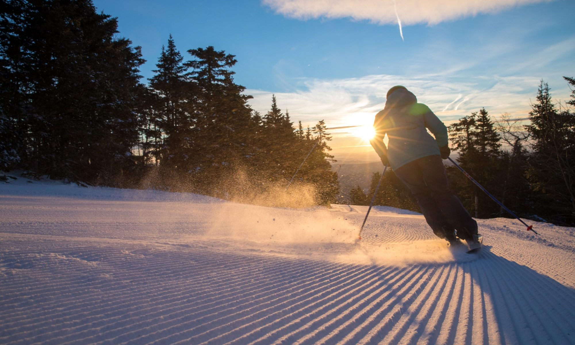 Mount Snow, one of the Peak Resorts which are welcoming three new ski areas of Snow Time. Mackenzie.