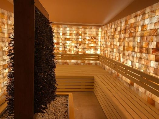 Another sauna in the QC Terme in Chamonix.