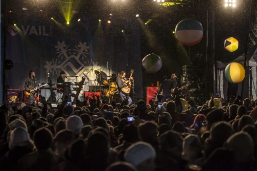 Vail SnowDaze - Michael Franti. Photo Zach Mahone- Vail Mountain. Vail Snow Days.